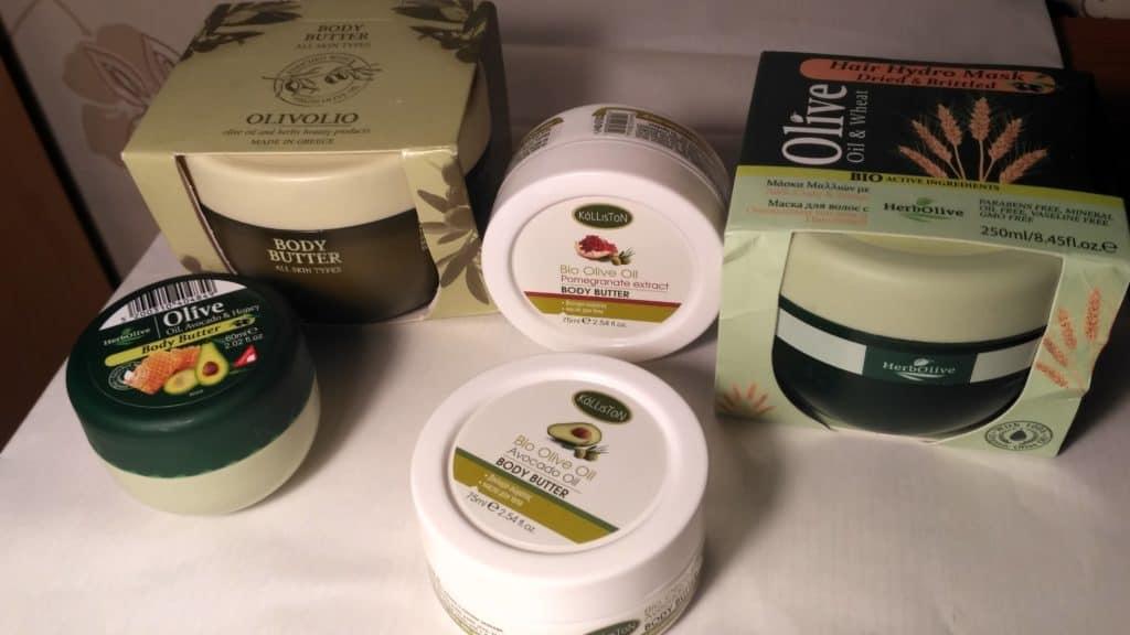 greckie kosmetyki z oliwą