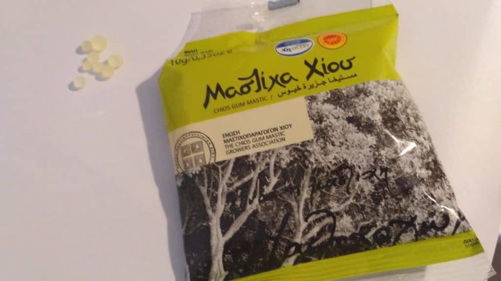 Mastyks - żywica mastyksowa z Chios