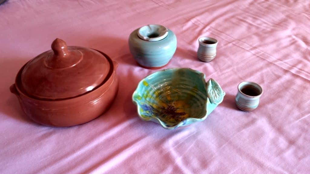 ceramika i gliniane wyroby z wioski garncarzy Margarites na Krecie