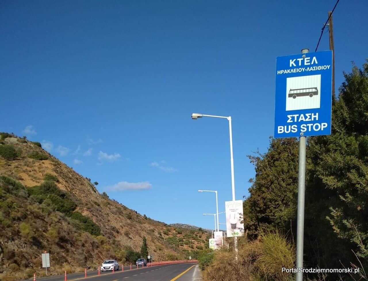 KTEL – zwiedzanie Krety autobusem